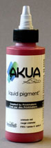 Akua Liquid Pigment Quinacridone Red bottle