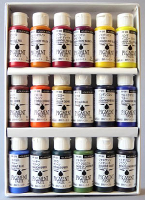 Holbein Paste Pigments Red bottle