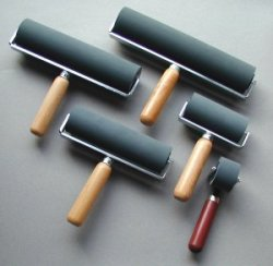 Japanese Soft Rubber Brayers - 28 Durometer