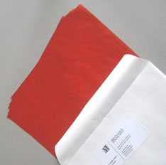 Red carbon paper