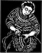 Mayan Embroiderer, Joyabaj, Guatemala from the book Guardians of the Arts